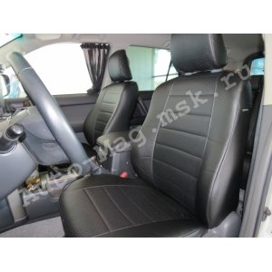 Чехлы экокожа Toyota Land Cruiser Prado